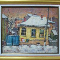Iarna in cartierul vechi, Bucuresti